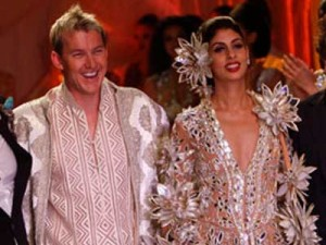 Brett Lee to walk the ramp for Indian designer