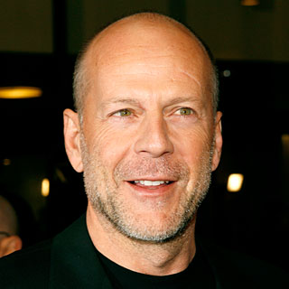 Bruce Willis enjoying married life