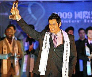 Bolivian wins Mister International 2009 contest