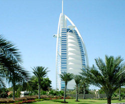 Dubai's iconic Burj Al Arab hotel celebrates its tenth birthday