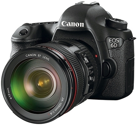 Canon launches Canon EOS 6D full-frame camera