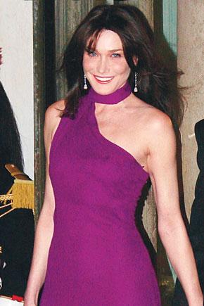 کارلا برونی سارکوزی، بانوی اول فرانسه