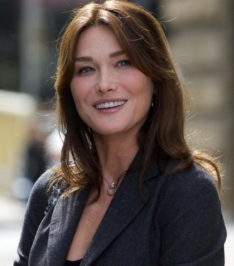 Carla Bruni admits she's locked in endless beauty contest with other First Ladies