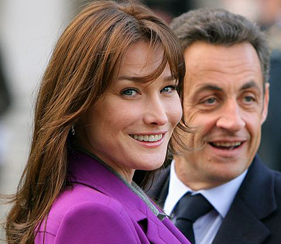 When Nicolas Sarkozy, Carla Bruni 'met' the Simpsons