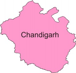 Image result for chandigarh district map png