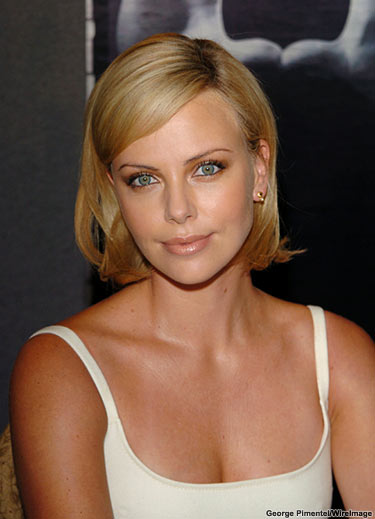 Charlize Theron amazing smile