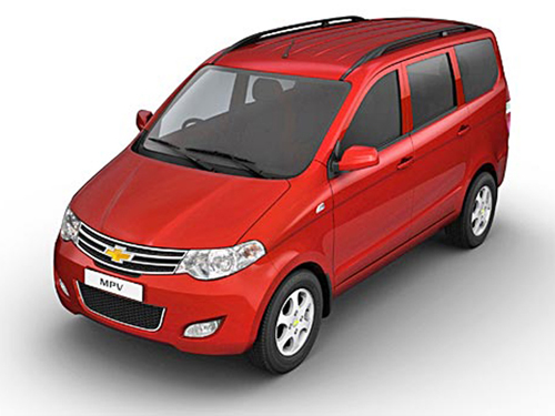 GM launches MPV Enjoy at Rs 5.49 lakh in India
