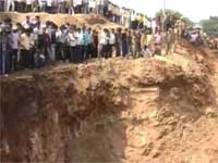 Three-Year-Old Baby Falls In Borewell; Army Tries Rescue