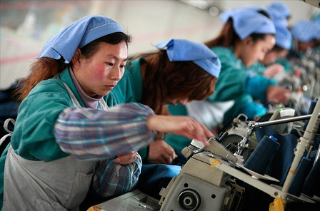 China's manufacturing activity slips to lowest in 8 months