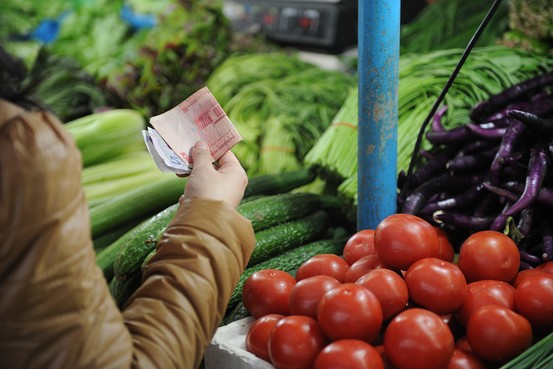 Chinese inflation falls to 2.1% in March
