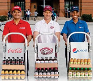 Coke, Pepsi vow to reduce calories by 20 pc in 10 years