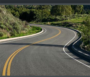 how to drive on curved roads