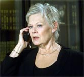 Dame Judi Dench hates complaints about her on-screen swearing