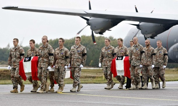 Three Danish soldiers killed in Afghanistan, Copenhagen says