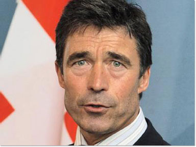 NATO chief Rasmussen and Norwegian PM call for Afghan self-reliance