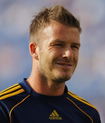 David Beckham TopNews - David beckham hairstyle la galaxy