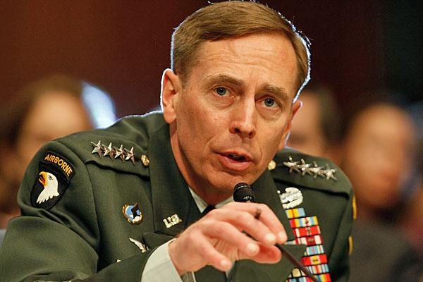US Army General David Petraeus