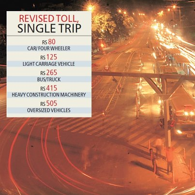 Transport lobbies oppose steep hike in toll on Delhi-Agra highway