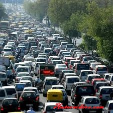 Delhiites get more stressful in traffic others
