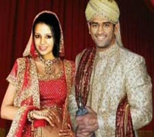 Dhoni Ties Nuptial Knot With Childhood Friend Sakshi