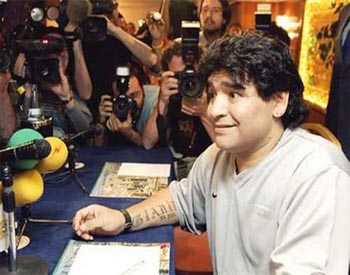 "Maradona: ""It's a pleasure to see Messi like this"""