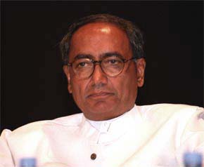 Congress Party general secretary Digvijay Singh