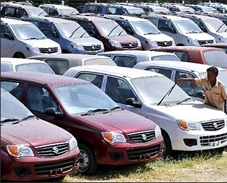 domestic car sales