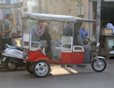 Electric-rickshaws
