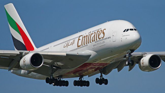 Three new Emirates flights in four continents