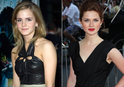 Emma Watson Vs Bonnie Wright!