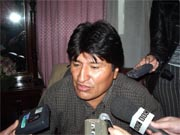 Evo Morales claims to have weathered coup attempt