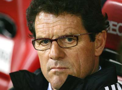 England boss Capello fumes over referee stopping play against Ukraine