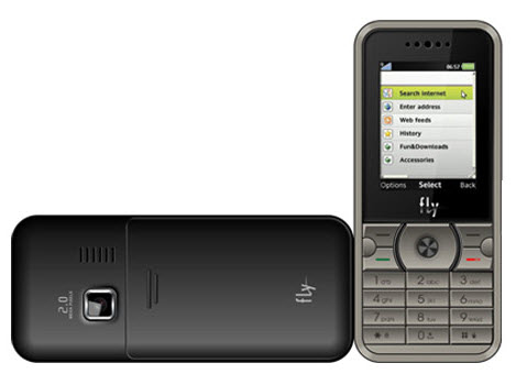 Fly Comes Up with its Latest C-250 CDMA Phone