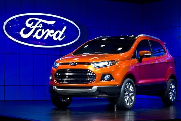 Ford India reveals new EcoSport SUV at Mumbai