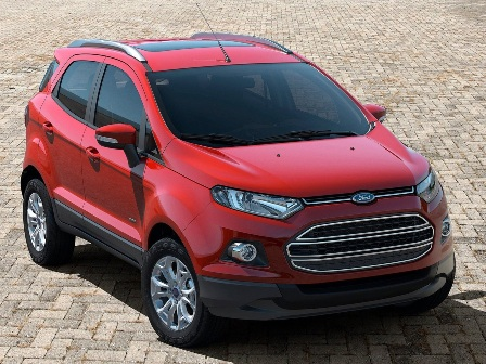 Ford accepting bookings for EcoSport at Rs. 50000