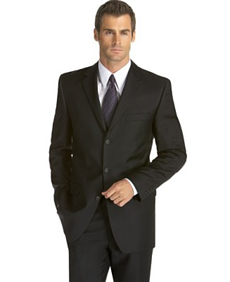 If you don't own a tux, don't worry. Dark suits work too for black ...