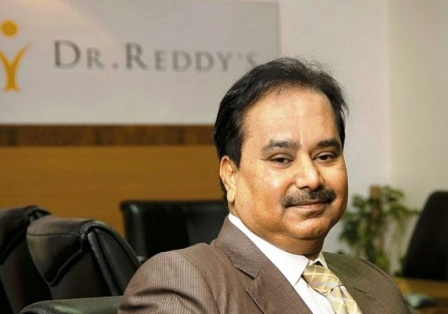 G V Prasad appointed as chairman of Dr Reddy's Laboratories