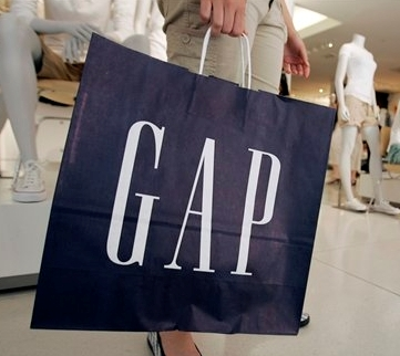 Gap revenues rise 61% to $351 million