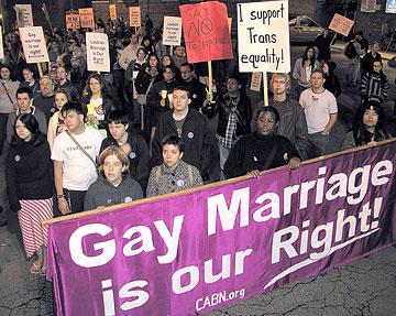 California Gay Marriage Vote 64