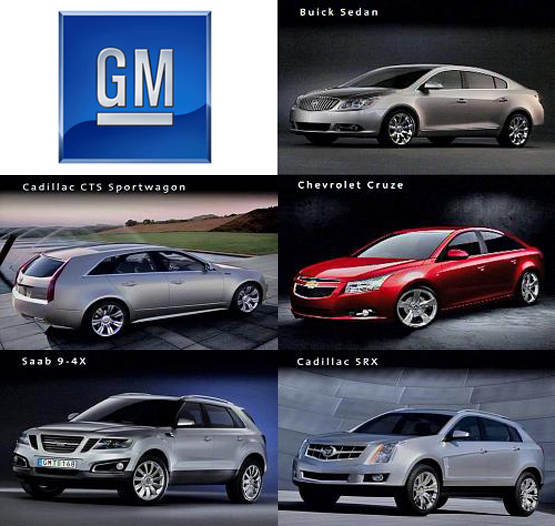 General motors shows 6 4 percent sales rise in april topnews for General motors cars brands