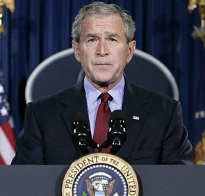 India, US need to work together in Afghanistan: Bush