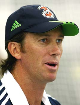 When the chips are down, Australians'' support you, says McGrath