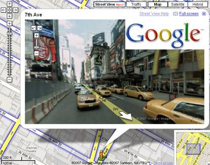 Google-Street-View-Maps