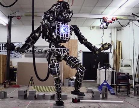 Google robot Karate Kid