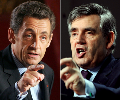 Brown, Sarkozy want 'supertax' on bankers' bonuses