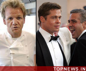 Ramsay names Pitt, Clooney worst celeb guests he has ever entertained