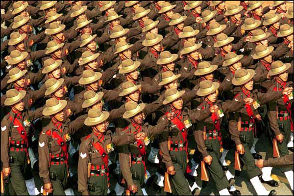 Indian Army Gurkha Regiment
