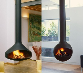 Gyrofocus, the hanging fireplace, named World's Most Beautiful Object