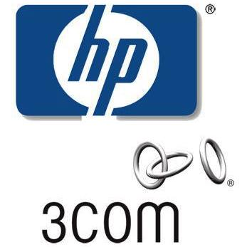 Hewlett Packard Company Logo. HP-3COM-LOGO