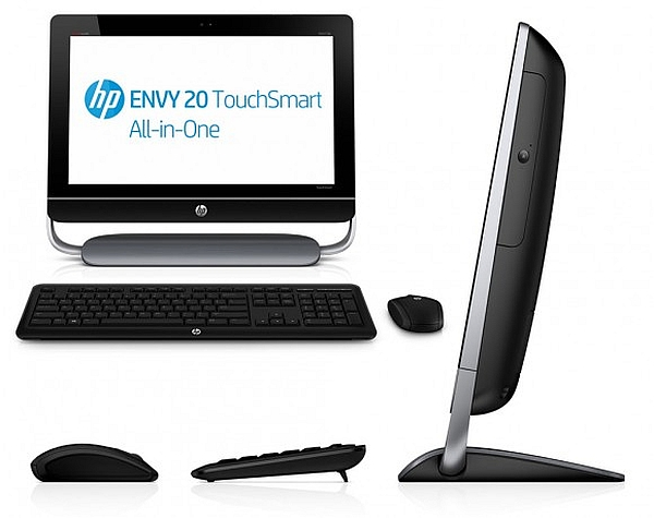 HP unveils Windows 8-based ENVY 20 and 23 TouchSmart all-in-one PCs